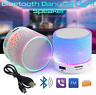 Bluetooth Speaker Led Portable Mini Wireless Speaker Player USB Radio Fm Mp3 Mus