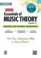 Alfred's Essentials of Music Theory - Version 3 - Student Version Ages 8 and up