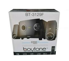 Boytone BT-3129F Bluetooth Speaker Sound System 2.1 Channel FM Radio