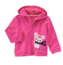 Gymboree Nwt Size 12-24 Months Mix N Match Pink Raccoon Hoodie Girls' Clothing (newborn-5t) Baby & Toddler Clothing