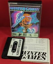 Winter Games MSX VGC TESTED