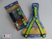 Trendy Pet Adjustable Harness Dog Stop Pulling Training Strap Collar & Lead Set