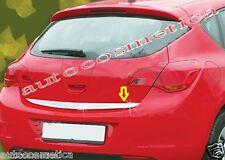 Striscia cromata portellone SPECIFICA Opel Astra J 5p Cromatura Baule Profilo