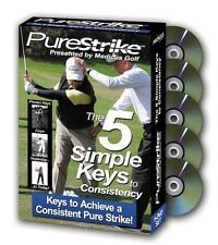 PureStrike by Medicus Golf - The 5 Simple Keys to Consistency - 5 DVD Box Set