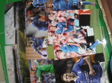 Birmingham City 2012/13 photo lot de 2 x SQUAD signé stades + 8 x Player photos