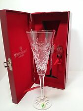 WATERFORD CRYSTAL 2ND EDITION 12 DAYS OF CHRISTMAS FLUTE 2 TWO TURTLE DOVES NIB