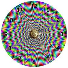 NEW Psychedelic Design CD Clock