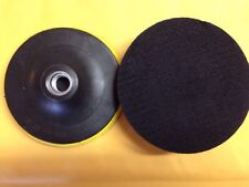 "2x  Backing pad polishing Pad for Angle Grinders with Standard 5/8"" Thread"