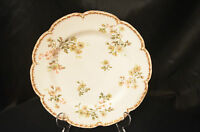 Plate Haviland and Company~ Limoges France Gold Trim Beautiful Floral Plate #66