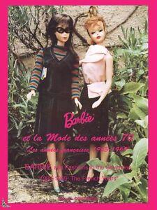 Barbie et la Mode des années 70 : Les années Françaises