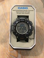 Casio SGW1000--Triple Sensor--Compass, Altimeter/Barometer, Thermometer