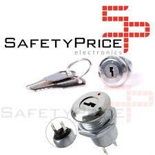 Interruptor ON OFF KS-02 con llave 1A 220v Key Switch Keylock  SP