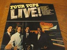 The Four Tops LIVE~Motown MT-654 Deep Groove 1st Pressing TR4M--6859-1-D H-1436