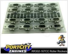 """Crow Cam Roller Rockers Ford V8 289 302 351 Windsor 7/16"""" stud 1.6RR RR302-167CC"""