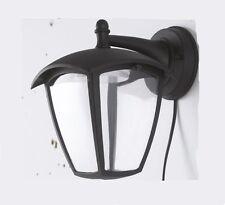 VIN APPLIQUE DA ESTERNO LAMPADA DA PARETE IN ALLUMINIO NERO 9 WATT LED