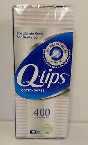 Q Tips Cotton Swabs 400 ct