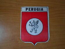 PERUGIA CALCIO-adesivo sticker in raso-cm.9x12,5