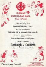 GAA 1981 All Ireland U-21 Football Final REPLAY Cork Galway