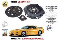 pour Mazda RX7 1.3 13 b Wankel Turbo 1991-2001 DISQUE EMBRAYAGE housse