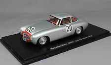 Spark Mercedes-Benz 300SL 2nd Le Mans 1952 Helfrich & niedemayr S4408 1/43 Resina