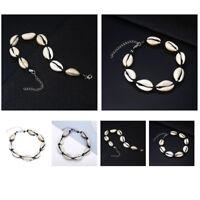 Boho Handmade Shell Anklet Beach Sea Sandal Bracelet Foot Rope Ankle Jewelry
