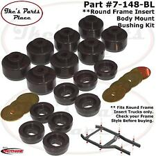 Prothane 7-148-BL Cab/Body/Rad Support Bushing Kit-16pc 99-14 Chevy 2/4WD Truck