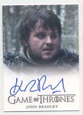 John Bradley Samwell Tarly Game of Thrones GoT Season 3 Autograph Trading Card