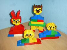 Lego Duplo Funny Faces Building Bricks Stones Div. Set 316