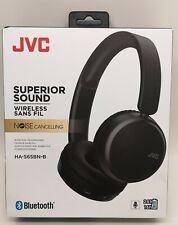 JVC HA-S65BN-B Wireless Bluetooth Noise Cancelling On Ear Headphones  BLACK