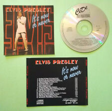CD Elvis Presley It's Now Or Never Grand Prix CD 66027 ultrarare MADE IN JAPAN