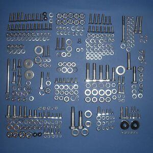 BMW R50 R50/2 R50S R60 R60/2 R69 R69S Complete Stainless Steel Bolt Set - 374pcs