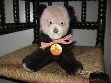 Steiff Old Vintage 1973 Tapsy Bear Cub 6425/18 Dralon