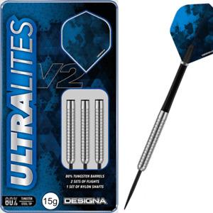 Designa Ultralite V2 Steel Tip 80% Tungsten Darts M3 -17g