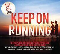 101 HITS KEEP ON RUNNING (2018) 101-track 5-CD set NEW/SEALED Take That Avicii