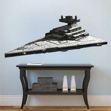 Star Wars Star Destroyer Removable Wall Decal Mural for Nursery or Teens  a85