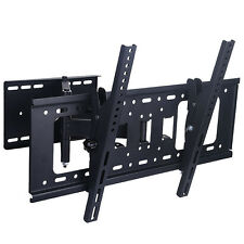 Full Motion TV Wall Mount Bracket Tilt Swivel 32 37 40 42 47 50 55 60 65 LCD LED