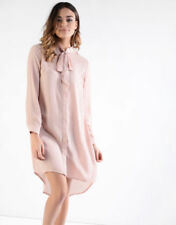 Party Shirt Dresses for Women with Buttons