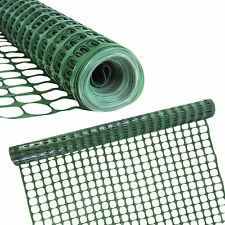Houseables Snow Fence, Temporary Fencing, Safety Netting, Single, Green, 4 x