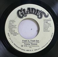 Soul Promo 45 Timmy Thomas - Freak In, Freak Out / Freak In, Freak Out On Glades