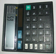 NEW BRAND CITIIZEN CT-512 CHECK AND CORRECT CALCULATOR USE HOME AND OFFICE (UK)