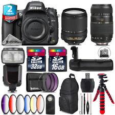 Nikon D610 DSLR + AFS 18-140mm VR + Tamron 70-300mm + Remote - 48GB Bundle