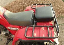 "16"" X 12"" BLACK REAR RACK SEAT PAD ATV ATC UTV GO CART GOLF CART PASSENGER SEAT"