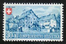 Switzerland 1945 MNH Mi 463 Sc B149 Frame House, Eastern Switzerland