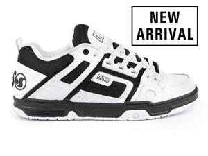 Mens DVS Comanche Skateboarding Shoes NIB White Black White