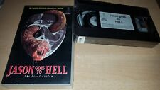 Jason goes to Hell - The Final Friday - Part 9 - NL Tape - Neu & OVP VHS - ab 18