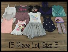 Girls Clothing Lot, 15 Items, Size 5, Little Lass, Epic Threads, Old Navy