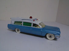 Vintage DINKY TOYS #277G SUPERIOR CRITERION AMBULANCE '62 RESTORED TO NEAR MINTY