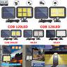 128 LED Solar Außenleuchte mit Bewegungsmelder PIR Wandleuchte Gartenlampe IP65