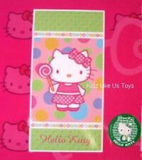 ~ Hello Kitty - LARGE VELOUR BATH / BEACH TOWEL Sugar