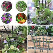 4Pc Garden Flower Plants Trellis Ivy Plastic Fence Climbing Rack Support HolderS